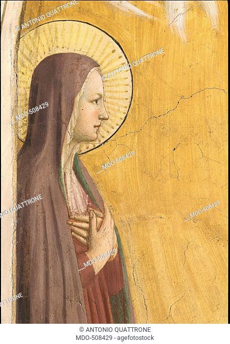 The Transfiguration, by Guido di Pietro (Piero) known as Beato Angelico, 1438 - 1446 about, 15th Century, fresco, cm 194 x 166
