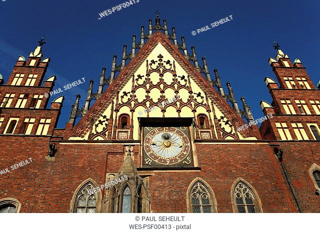 Poland, Wroclaw, Town hall