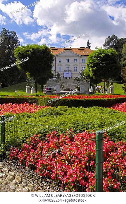 Tivoli Park in Ljubljana, capital city of Slovenia