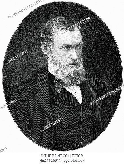 William Edward Forster, 19th century British industrialist and Liberal Party statesman, (1900). Forster (1818-1886) was a Quaker and Liberal member of...