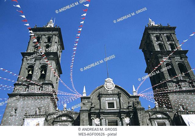 Mexico, Puebla, cathedral