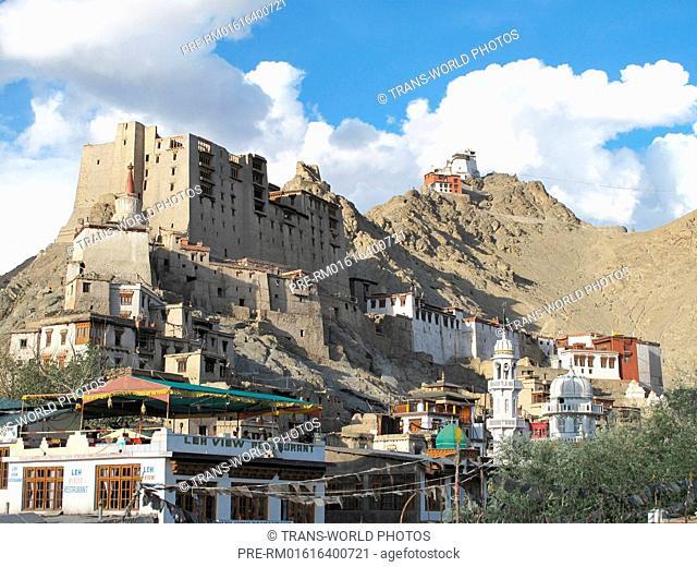 Leh, Royal Palace Namgyal Dynasty, Jammu and Kashmir, India / Leh, Königspalast Namgyal Dynastie, Jammu und Kashmir, Indien
