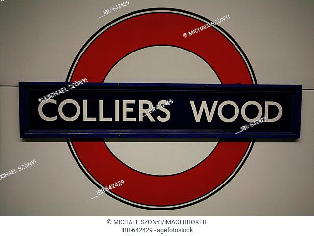 Colliers Wood underground station, London, England, UK, Europe