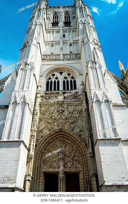 St  Omer cathedral in Pas-de-Calais, France