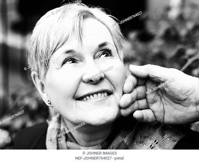 Portrait of a senior couple, Sweden