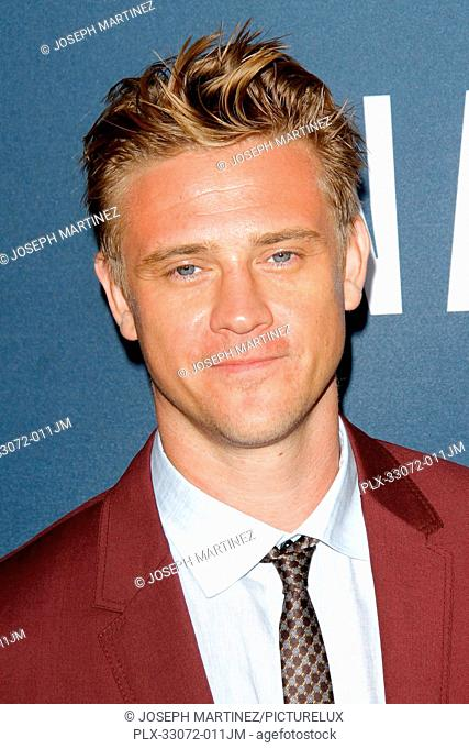 Boyd Holbrook at the Premiere of Netflix's Narcos Season 2 Premiere held at Arclight Hollywood in Hollywood, CA, August 24, 2016