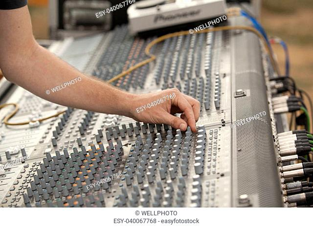 Bass sound check Stock Photos and Images | age fotostock