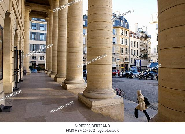 France, Paris, the Theatre d'Odeon on the Place de l' Odeon Odeon square