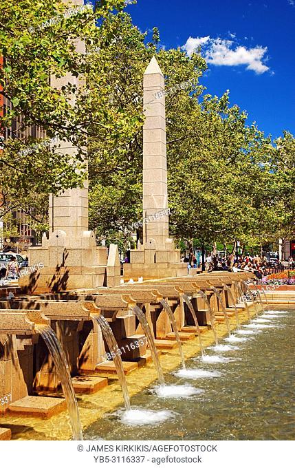 Fountains of Copley Square, Boston