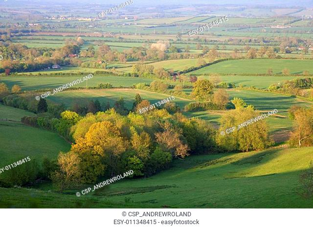 Pastoral countryside, England