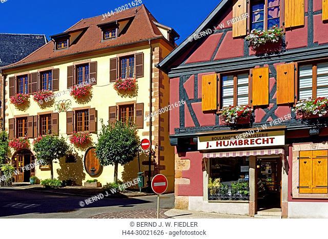 Häuser, historisch, 1601, Bäckerei, Konditorei, Weingut