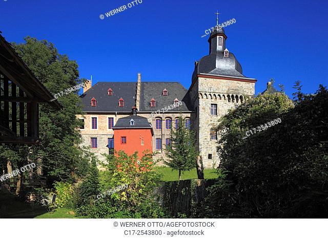 Germany, Korschenbroich, Niers, Lower Rhine, Rhineland, North Rhine-Westphalia, NRW, Korschenbroich-Liedberg, castle Liedberg