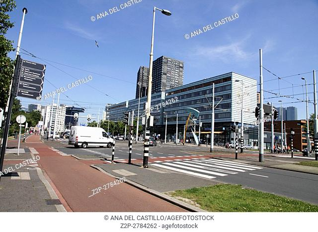 Rotterdam Holland on June 6, 2014