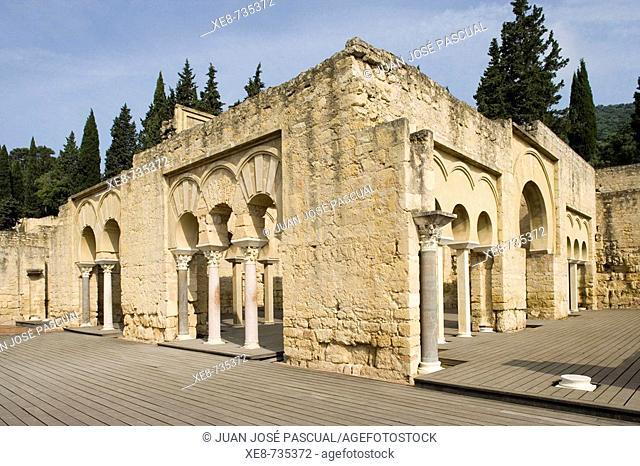 Ruins of Medina Azahara, palace built by caliph Abd al-Rahman III. Cordoba province, Andalucia, Spain