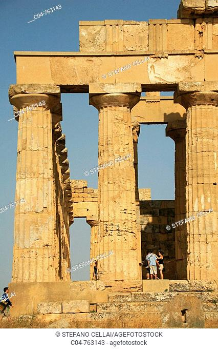 Selinunte ancient Greek archaeological site. Province of Trapani, Sicily, Italy