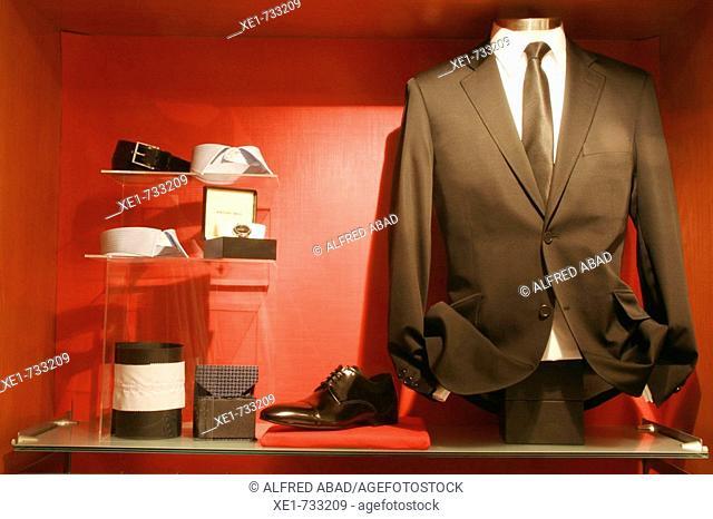 Jaket & complements. Jordi Messeguer Bputique's. Barcelona. Catalonia. Spain