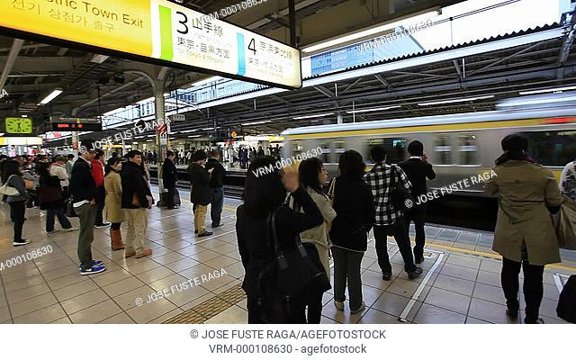 Japan, Tokyo City, Akihabara Station