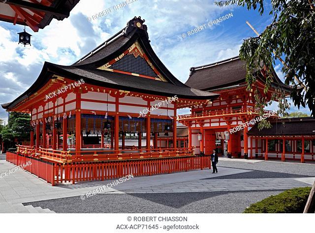 Fushimi Inari shrine complex, Kyoto, Japan