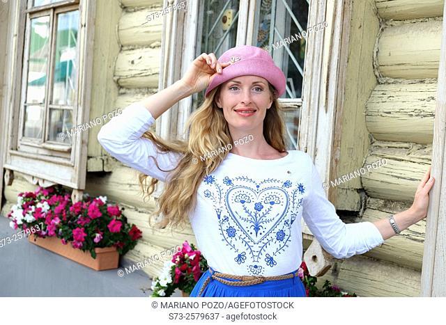 Woman in Kazan, Tatarstan, Russia