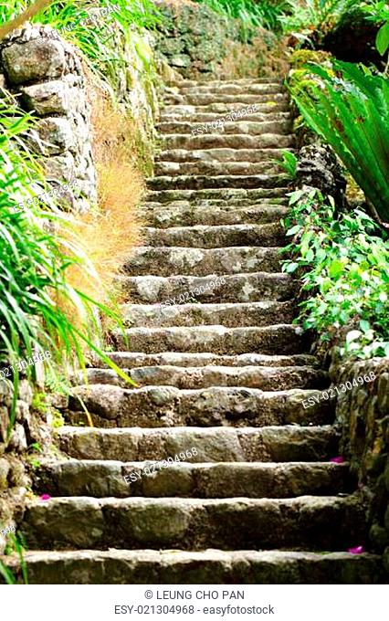 stone stair outdoor