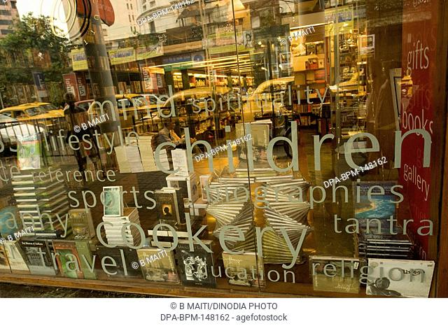 Oxford Book store and gallery ; Park street ; Calcutta ; West Bengal ; India