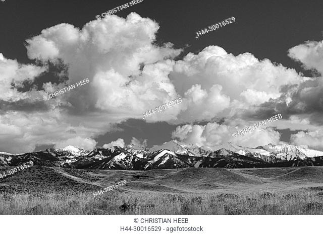 North America, USA, Rocky Mountains, Rockies, Montana, Crazy Mountains