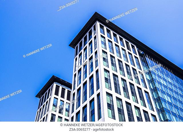 Engie building, Simon Bolivar, Brussels, Belgium, Europe