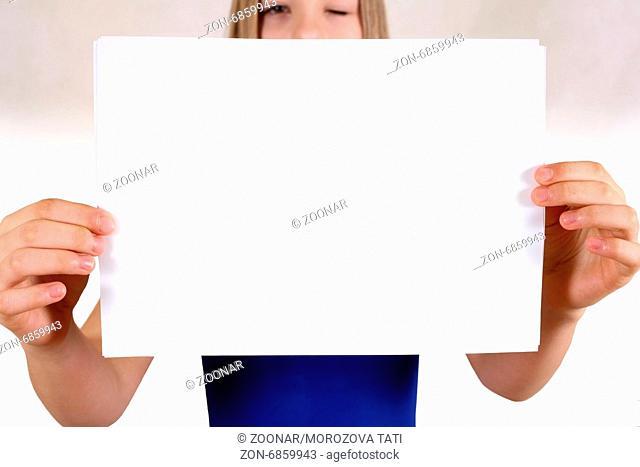 Sheet of a paper