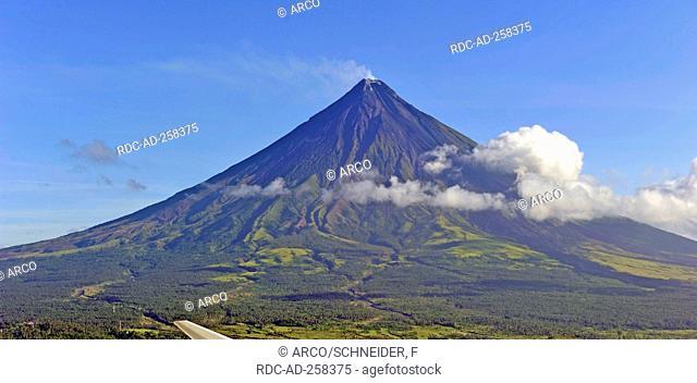 Vulcano Mayon Legaspi province Bicol Philippines