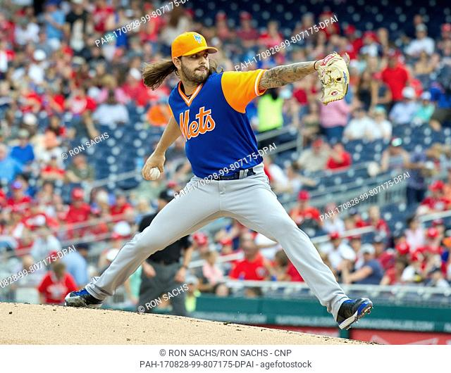 e4ac23b16 New York Mets starting pitcher Robert Gsellman (65) pitches in the first  inning against