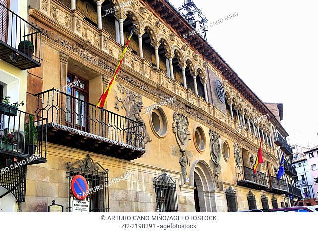 Town Hall, XVIth century, Tarazona, Zaragoza province, Spain