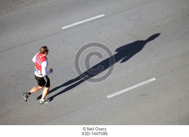Male Competitor in the Iron Man Triathlon Competition, Summerstrand, Port Elizabeth, Eastern Cape, South Africa