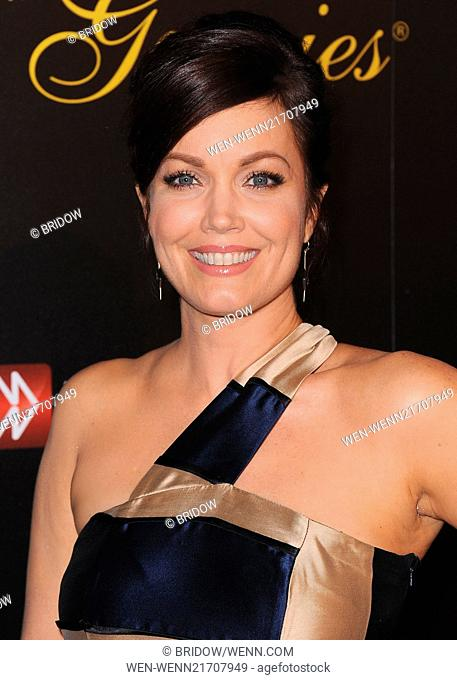 The 39th Annual Gracie Awards at the Beverly Hilton Hotel on May 20, 2014 in Beverly Hills - Arrivals Featuring: Bellamy Young Where: Los Angeles, California