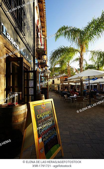 Port district  Denia  Alicante  Spain