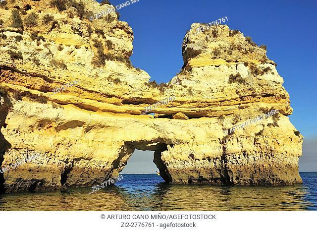 Ponta da Piedade. Lagos, Algarve, Portugal