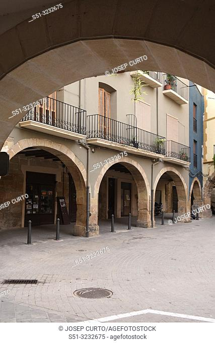 old town of Balaguer, LLeida province,Catalonia, Spain