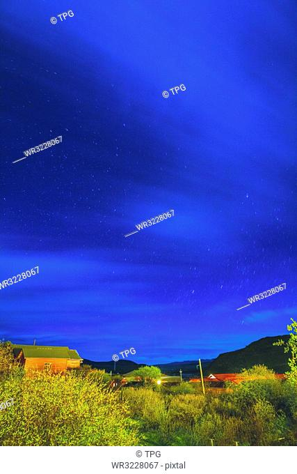 Starry Night in Omutang;China