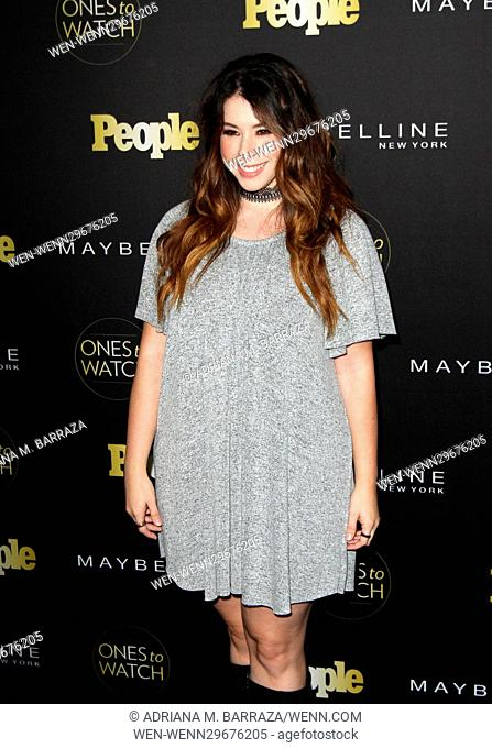 People's One's To Watch Event Celebrating Hollywood's Rising & Brightest Stars held at E.P. & L.P. in Los Angeles Featuring: Jillian Rose Reed Where: Los...