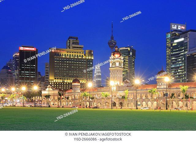 Merdeka Square in the Evening; Kuala Lumpur; Malaysia
