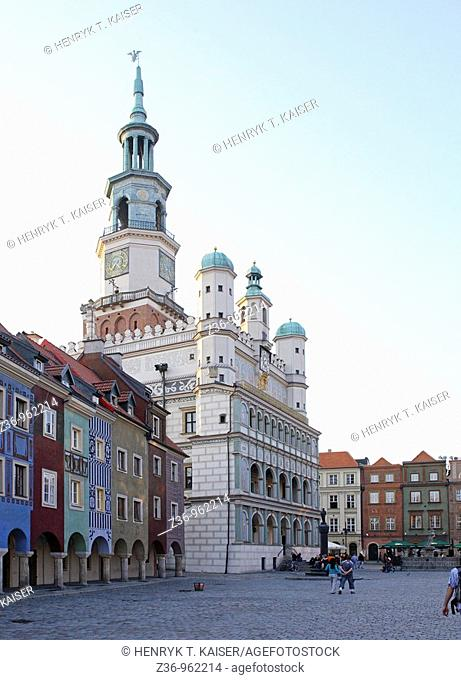 Town Hall, Old Market Square, Poznan, Poland