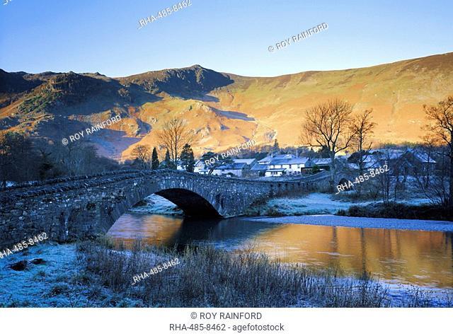 Grange in Borrowdale, Lake District National Park, Cumbria, England, UK