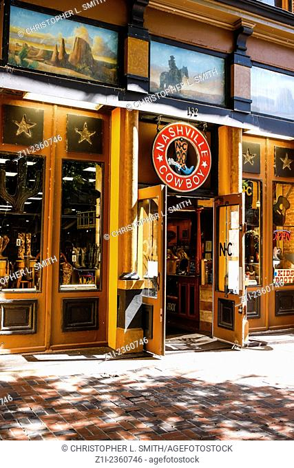 The Nashville Cowboy bar in the Broadway area of the Country music capitol