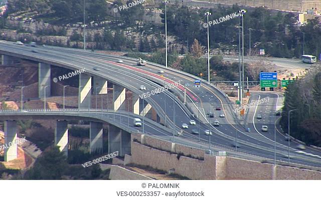 traffic in Jerusalem