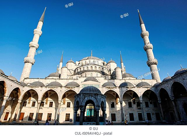Sultan Ahmed Mosque, Istanbul,Turkey