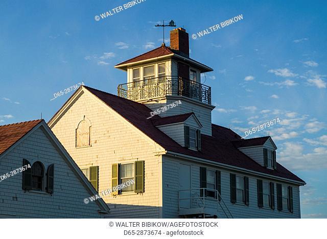 USA, Massachusetts, Cape Cod, Eastham, Nauset Light Beach Coast Guard Station