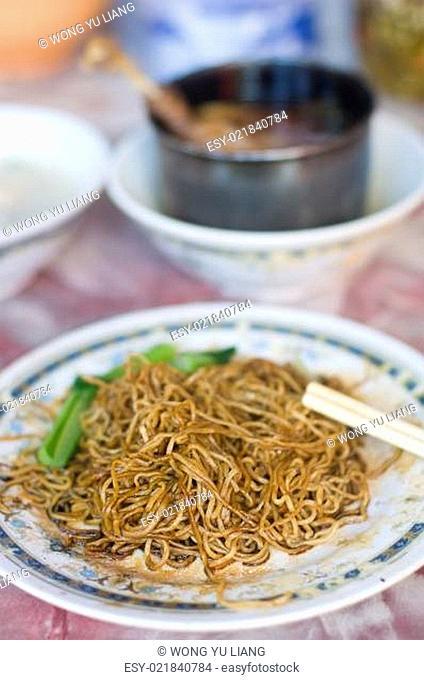 famous bidor wanton duck leg noodle,perak,malaysia