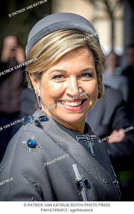 King Willem-Alexander and Queen Maxima of The Netherlands visits Medical Valley Center where they meet German companies and members of the Dutch trade...