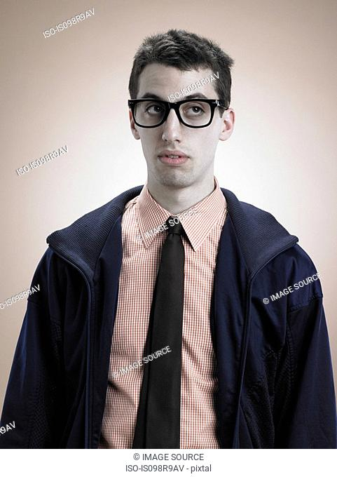 Portrait of a geek