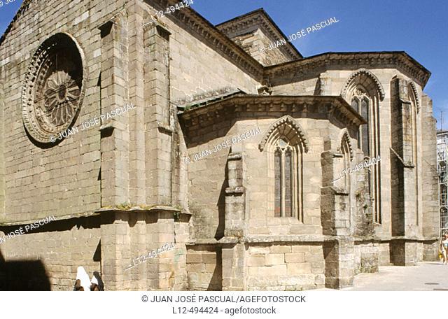 St. Peter's church, Lugo. Galicia, Spain