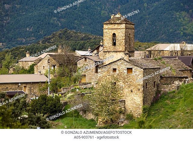 Buerba. Pyrenees Mountains, Sobrarbe, Huesca province, Aragon, Spain